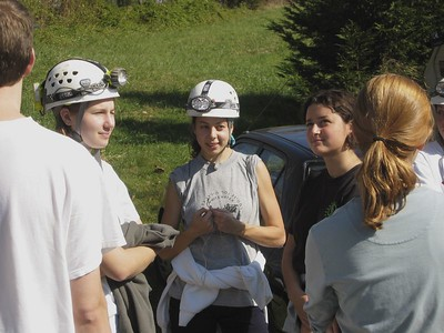 Pre-caving group