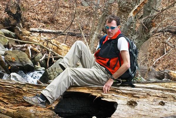 Hiking in Shenandoah National Park (6 March)