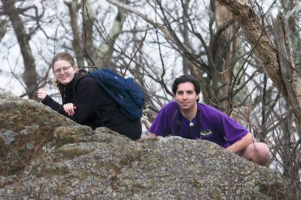 Hiking in Shenandoah National Park (29 February)