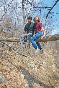 Kristin Ankur high log