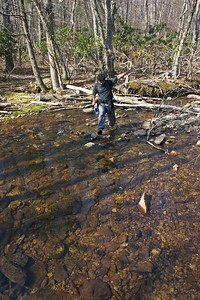 Ankur stream crossing
