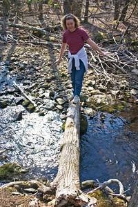Kristin stream crossing