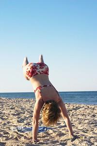 Kristin headstand falling 2