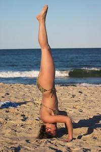 Nadia headstand side 2