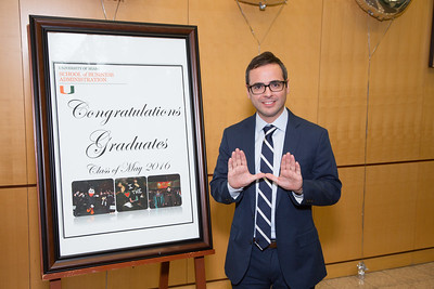 2016 Recognition Ceremony MBA Program University of Miami School of Business