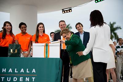 Donna E. Shalala Student Center Naming Ceremony
