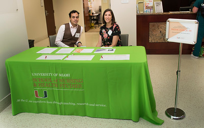 University of Miami School of Nursing & Health Studies Simulation Hospital Dedication Ceremony, demonstrations and facility tours in Coral Gables on Sept. 28, 2017. Photo by Mitchell Zachs