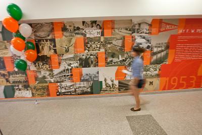 UM Student Affairs Ribbon Cutting of University Center Mural