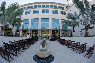 The University of Miami Robert and Judi Prokop Newman Alumni Center Dedication