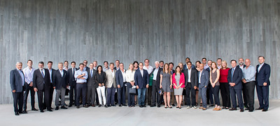 The Master of Real Estate Development and Urbanism (MRED+U) Advisory Board Meeting and social at the University of Miami's Thomas P. Murphy Design Studio building in Coral Gables on May 2nd, 2019. (Photo by Mitchell Zachs)