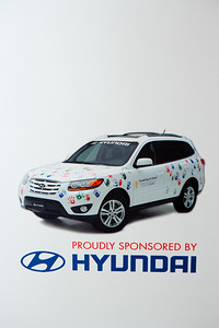 The Hyundai Gives Hope on Wheels $100,000 award presentation at The Department of Pediatrics at the University of Miami Miller School of Medicine