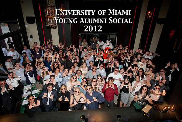 Young Alumni Social - Cafeina Wynwood Lounge - May 17, 2012