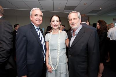 Mayor Carlos Gimenez, Peggy Hollander and Leonard Abess