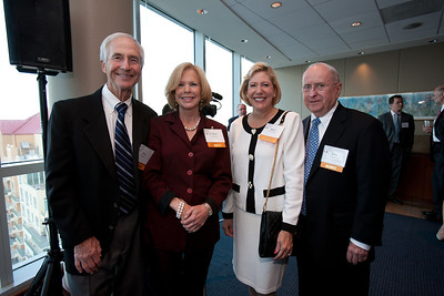 Alvin and JoAnne Davidson with Blair and John Strickroot