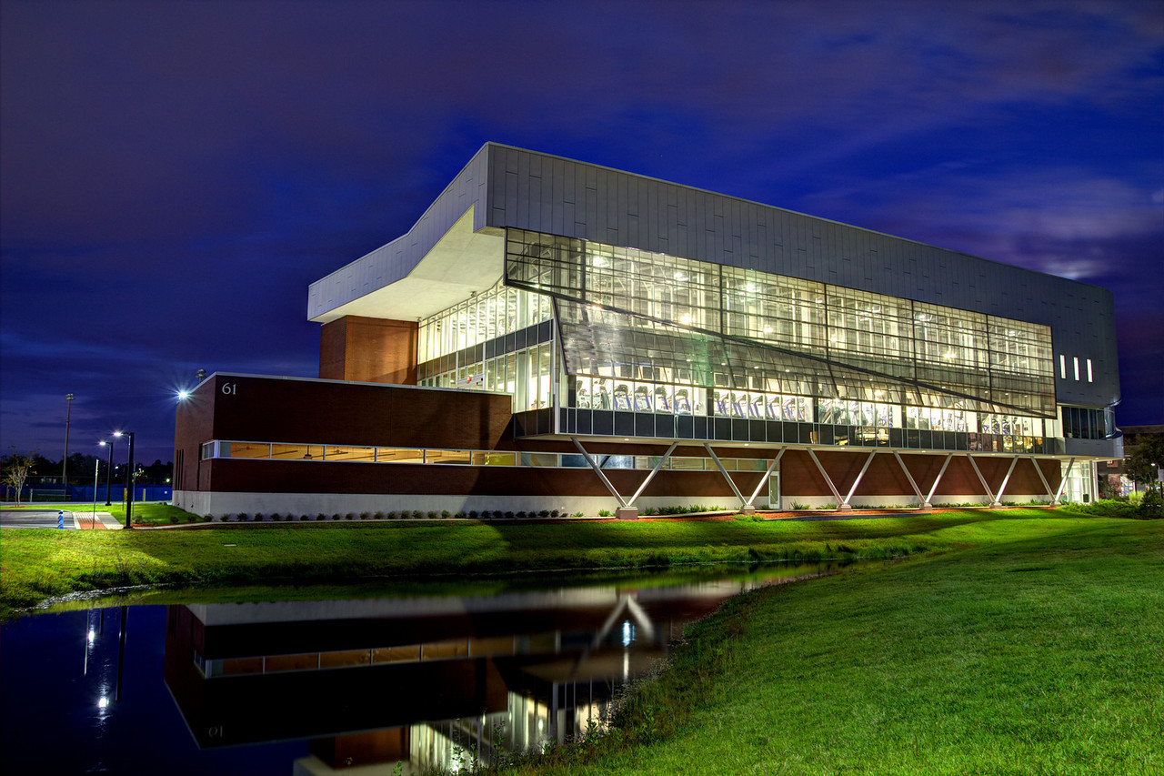 University of North Florida (UNF) Student Wellness Complex in Jacksonville, Florida USA on November 17, 2013.