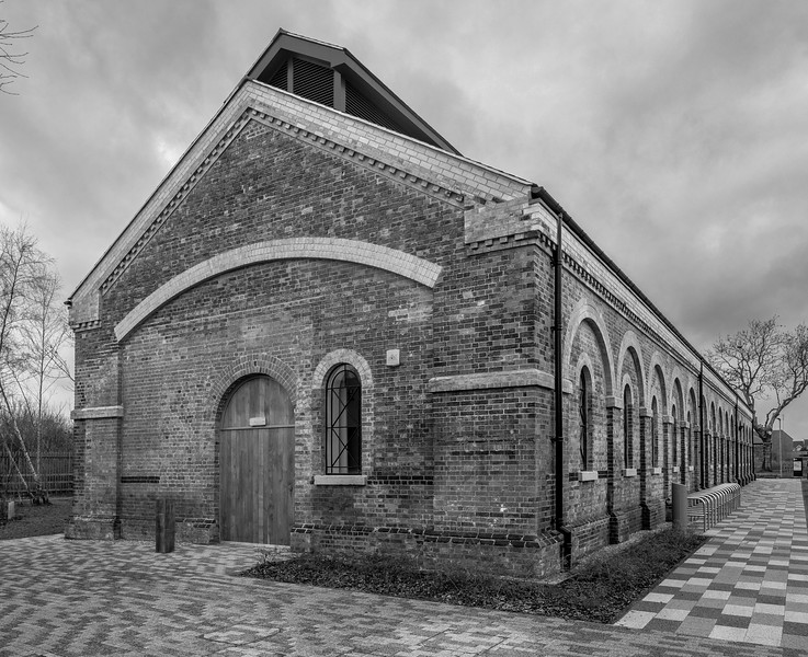 Train shed, University of Northampton