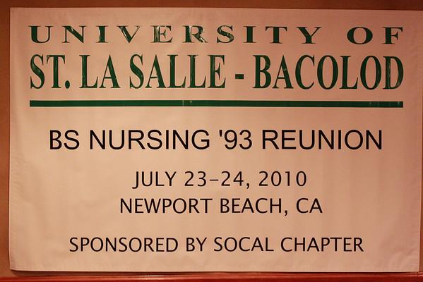 University of St. La Salle BSN 1993 Class Reunion 2010