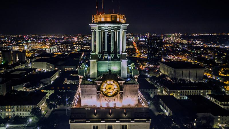UT Tower Night 1