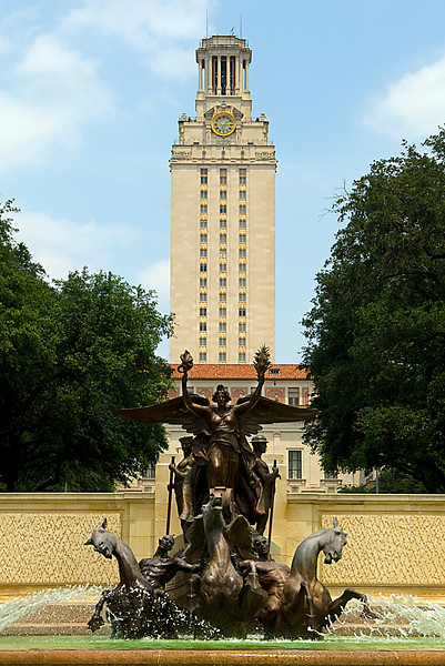 Iconic Tower and Fountain