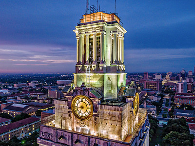 Early Morning UT Tower 1