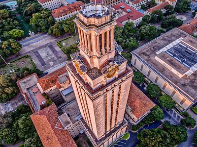 Early Morning UT Tower 5