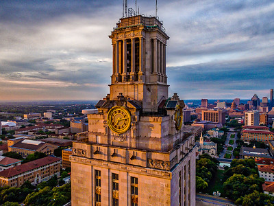 UT Tower Close Up 4