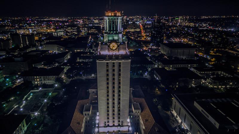 UT Tower Night 3