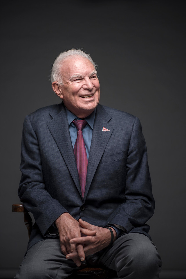 President Paul Zingg is photographed in the studio on Monday, October 12, 2015 in Chico, Calif. <br /> (Jason Halley/University Photographer)