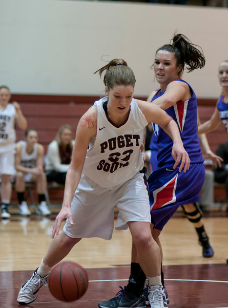 Linfield at Puget Sound   January 20, 2012   40