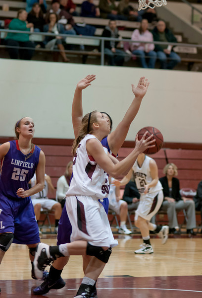 Linfield at Puget Sound   January 20, 2012   50