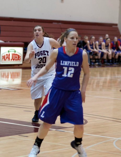 Linfield at Puget Sound   January 20, 2012   64