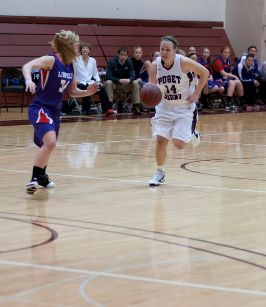 Linfield at Puget Sound   January 20, 2012   76