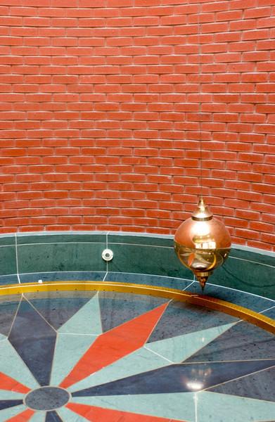 Foucault pendulum located in Physics/Astronomy Building