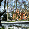 Parrington Hall after snowfall