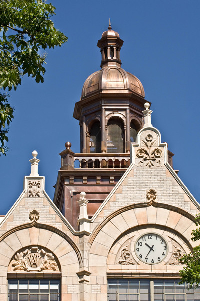 Cupola atop Denny Hall shortly after its renovation in 2005