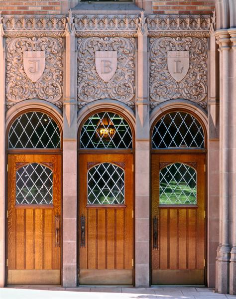 Entrance to Johnson Hall