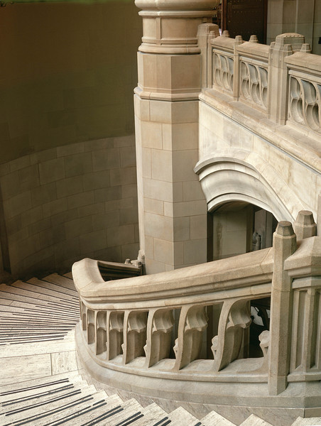 Grand Staircase in Suzzallo Library.