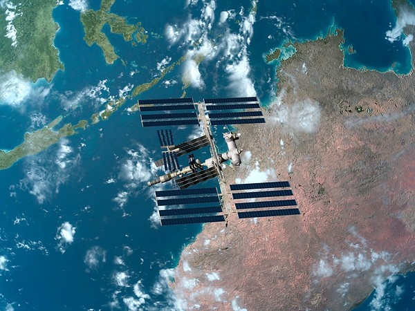 ISS No.  International Space Station, artwork