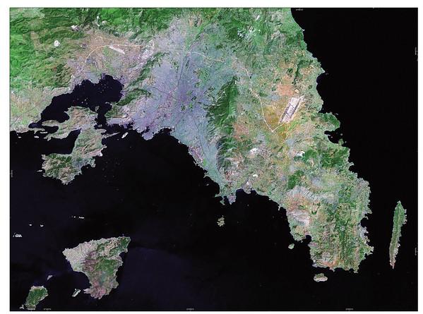 Satellite Image II No.  4147