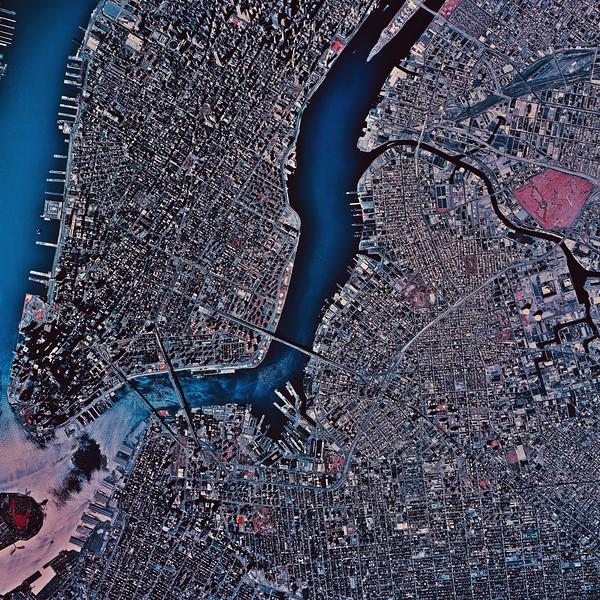 Satellite Image II No.  CB044092