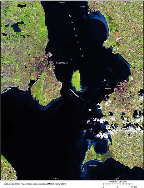 Satellite Image II No.  4157