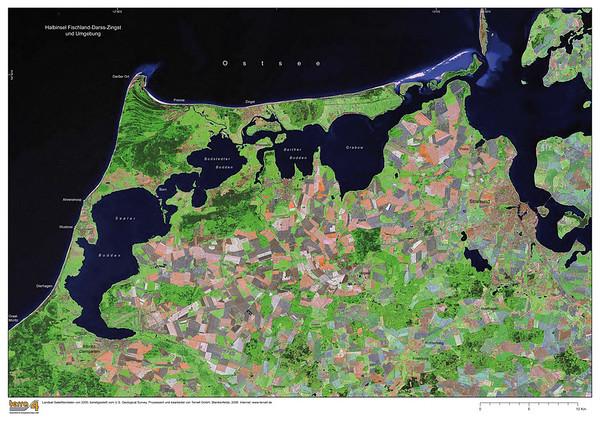 Satellite Image II No.  4151