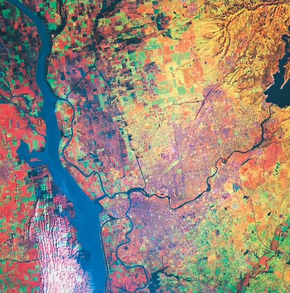 Satellite Image II No.  42-27699323
