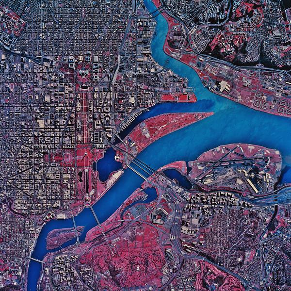 Satellite Image II No.  CB044093
