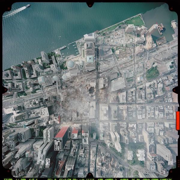 Satellite Image II No.  worldtradecenter