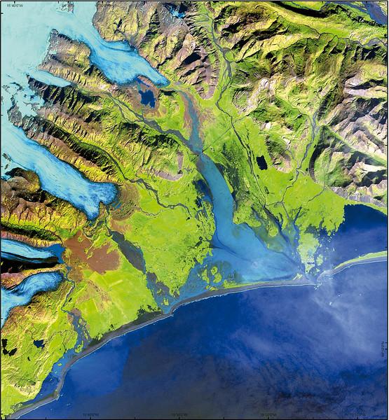 Satellite Image II No.  4156