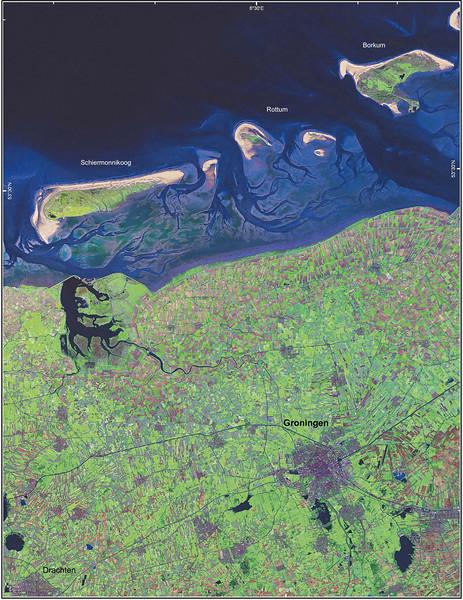 Satellite Image II No.  4155