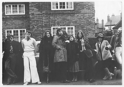 Cast members of New Theatre, University of Nottingham, 1975