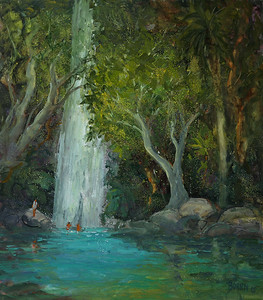 Waterfall 30x34 wc