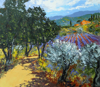 Provence Summer 40x46 oil